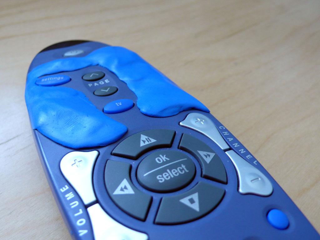 Brendan Dawes - Hack your TV remote better with @projectsugru