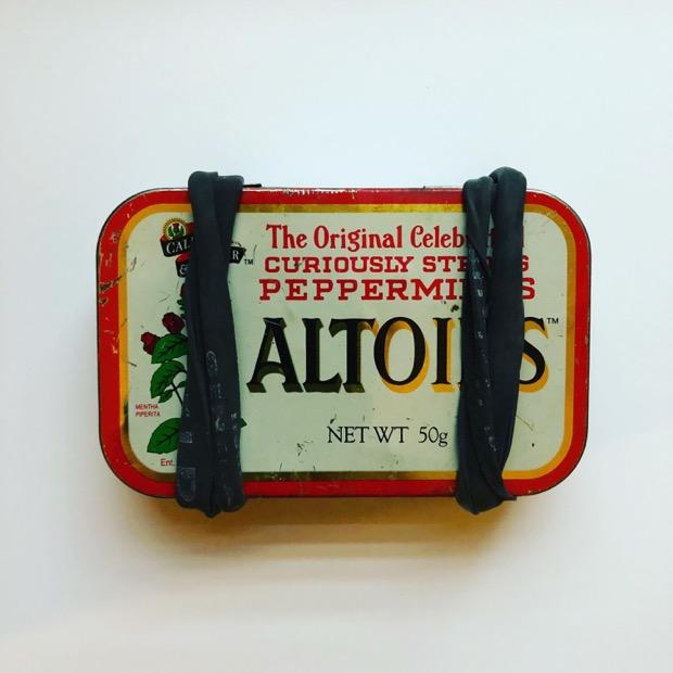 my battered but useful Altoids tin