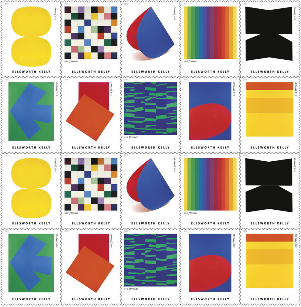 Ellsworth Kelly Stamps
