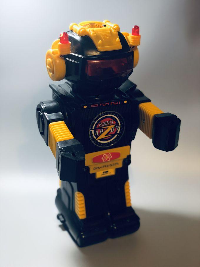 Smoking Robot